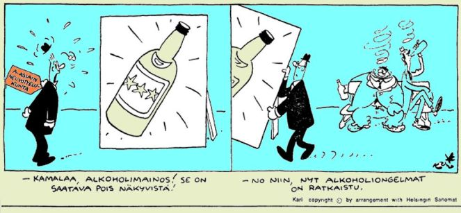 Alkoholimainos