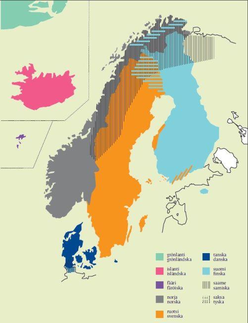 Pohjoismaiden kielet1