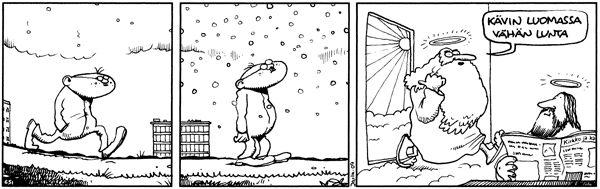 Luomassa lunta
